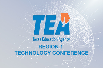 TEA Region 1 Technology Conference Banner